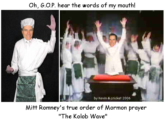 Mitt Romney and the Kolob Wave.