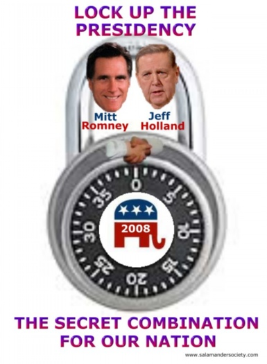 Mitt Romney Jeffrey Holland run for the presidency ticket.