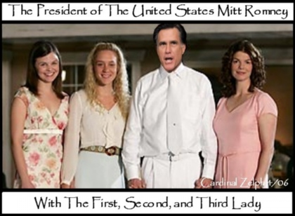 Mitt Romney Big Love by Cardinal Zelph.