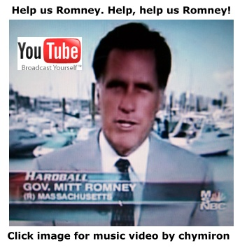 Mitt Romney help us by The Beach Boys and Gordon Hinckley.