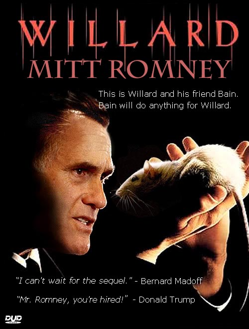 willard romney a rat