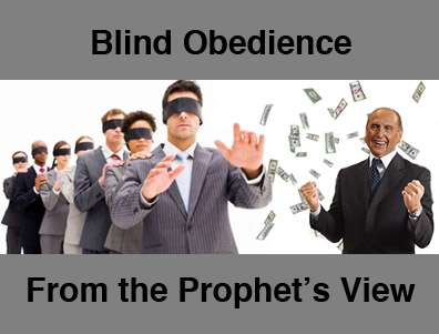 blind obedience to authority essay