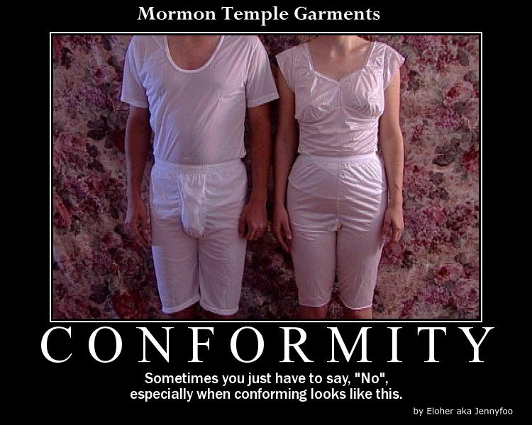 Lds Funny Undies Drawer Mormon Temple Garments Salamander Society